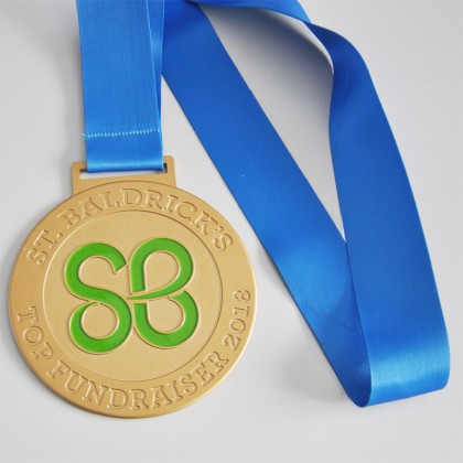 3D Gold Metal Medal