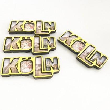 Custom Wood Magnet