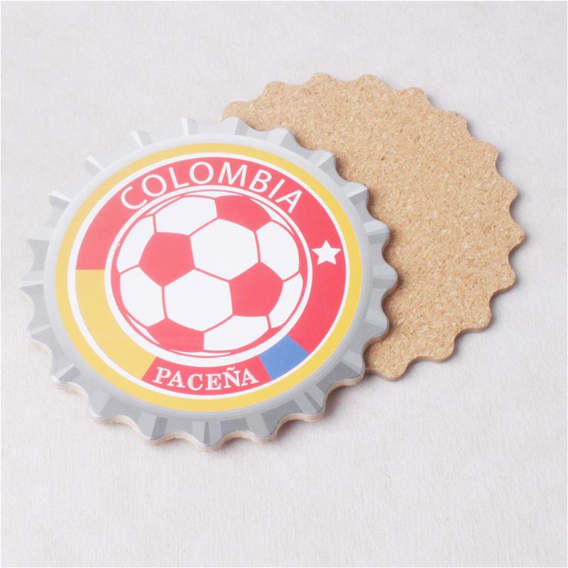 MDF Cork Coaster