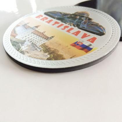 Gold Foil 3D Magnet
