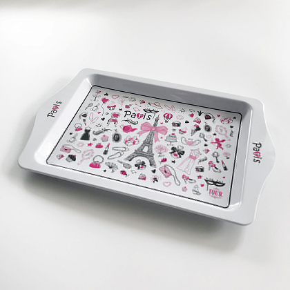 Printed Rolling Tin Tray