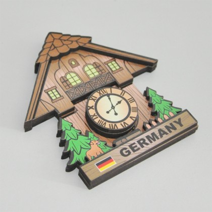 Promotional Wood Magnet
