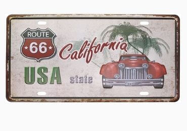 Souvenir License Plate Manufacturer and Supplier in China