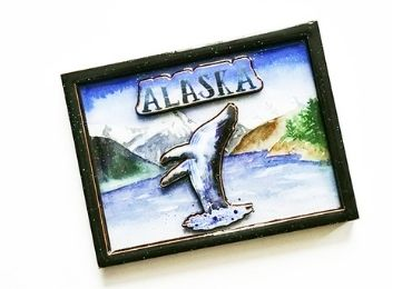 Souvenir Epoxy Fridge Magnet