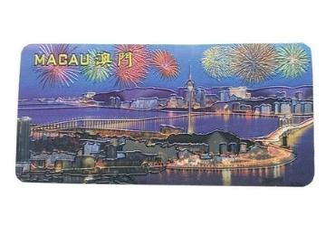 aluminium foil souvenir magnet manufacturer