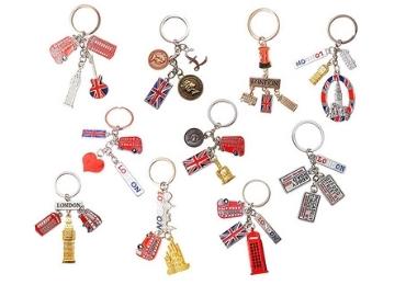 wholesale souvenir soft enamel Keychains Custom supplier factory manufacturer