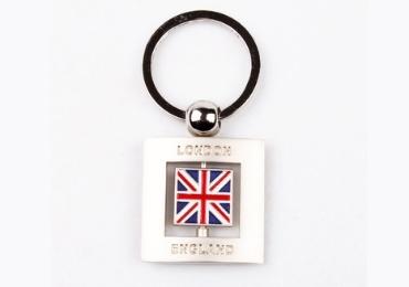 wholesale souvenir Metal Keychains Custom supplier factory