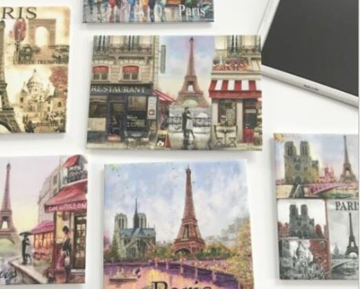 18 - Printed Metal Fridge Magnet manufacturer and supplier in China