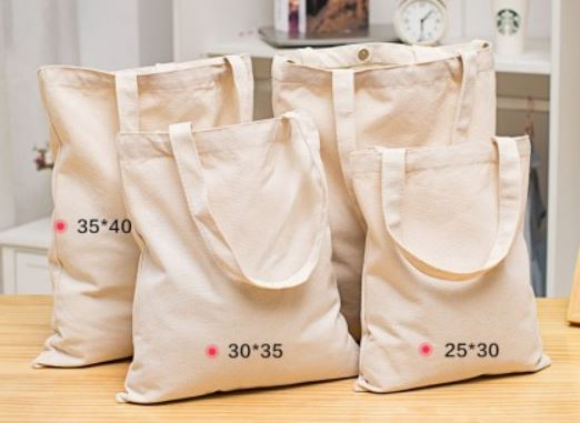 Plain Printed Cotton Bag manufacturer and supplier in China