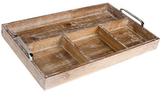 2 - Serving Tray With Divider manufacturer and supplier in China