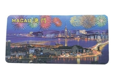 Aluminum Foil Souvenir Magnet manufacturer and supplier in China