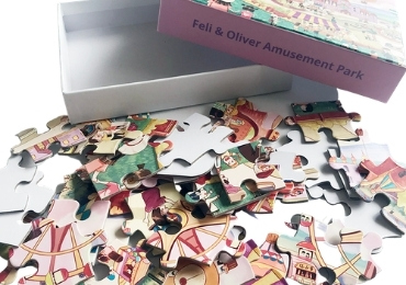 Amazon Jigsaw Puzzle manufacturer and supplier in China