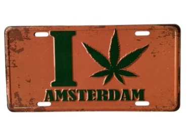 Amsterdam License Plate manufacturer and supplier in China