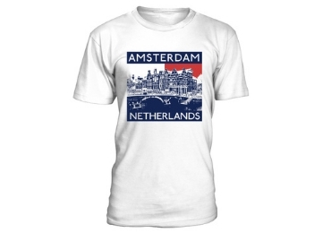 Amsterdam Souvenir T-Shirt manufacturer and supplier in China
