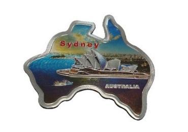 Australia Souvenir Foil Magnet manufacturer and supplier in China