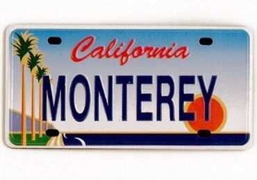 California License Plate manufacturer and supplier in China
