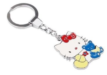 Japan Cartoons Souvenir Metal Keyring manufacturer and supplier in China