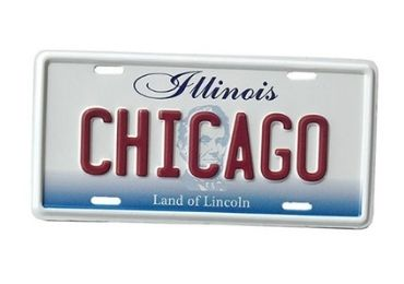 Chicago Souvenir Plate Magnet manufacturer and supplier in China