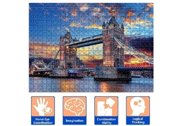City Jigsaw Puzzle manufacturer and supplier in China