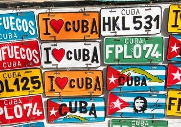 Cuba Souvenir License Plate manufacturer and supplier in China