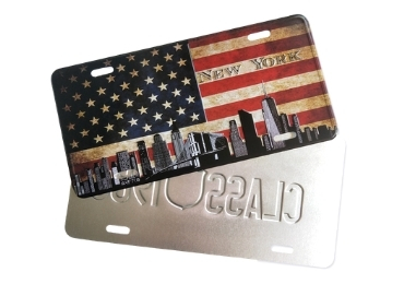 Custom Licence Plate manufacturer and supplier in China