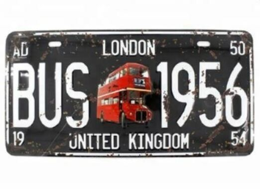 16 - Motorcycle License Plate manufacturer and supplier in China