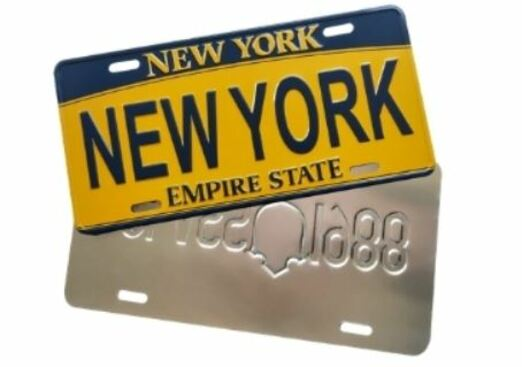 17 - New York License Plate manufacturer and supplier in China