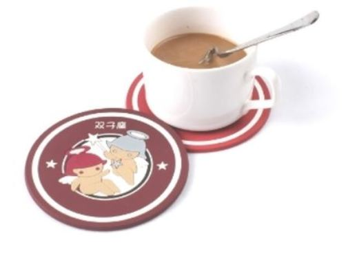 18 - Soft PVC Coaster manufacturer and supplier in China