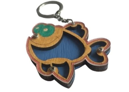 18 - Wooden Keychain manufacturer and supplier in China