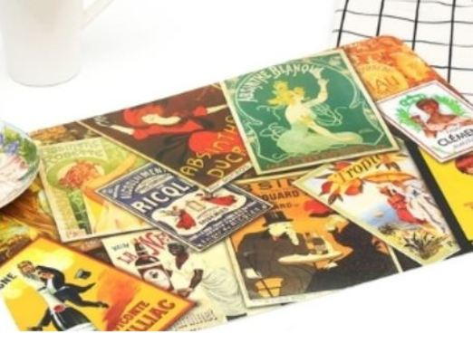19 - Souvenir Placemat manufacturer and supplier in China