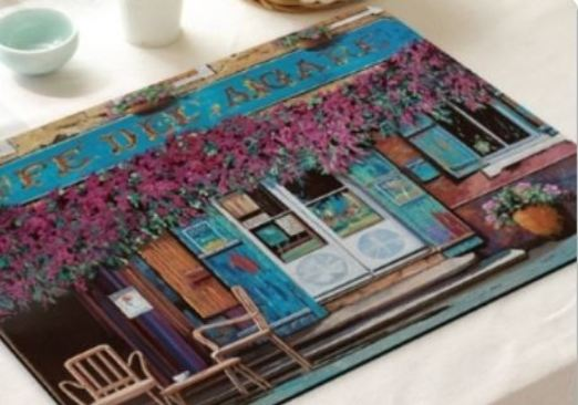 21 - Wooden Placemat Set manufacturer and supplier in China