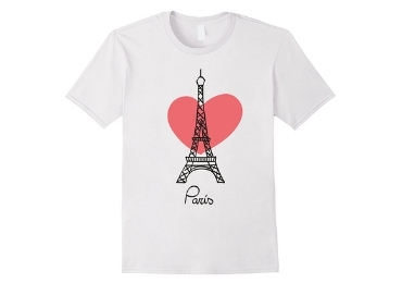 France Souvenir T-Shirt manufacturer and supplier in China