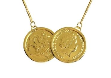 Golden Coin Pendant manufacturer and supplier in China