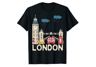 Great Britain Souvenir T-Shirt manufacturer and supplier in China