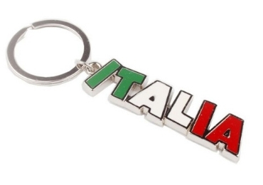 Italy Souvenir Metal Keychain manufacturer and supplier in China