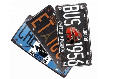 License Plate Manufacturer and supplier in China