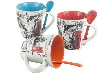 London Ceramic Souvenir Mug manufacturer and supplier in China