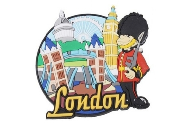 London Rubber Souvenir Magnet manufacturer and supplier in China