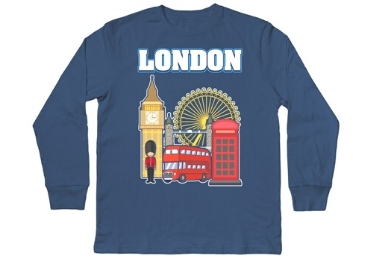 London Souvenir Shirt manufacturer and supplier in China
