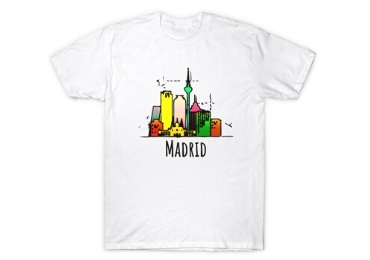 Madrid Souvenir T-Shirt manufacturer and supplier in China