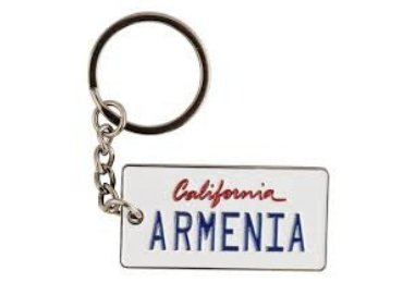 Metal Licence Plate Keychain manufacturer and supplier in China