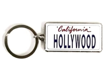 Metal License Plate Keychain manufacturer and supplier in China
