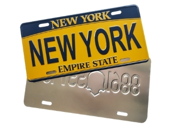 New York License Plate manufacturer and supplier in China