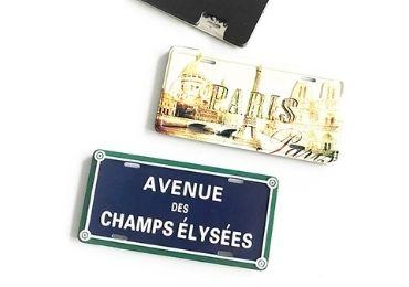 Paris Souvenir Aluminum Magnet manufacturer and supplier in China