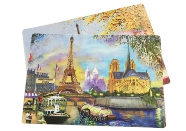 Paris Souvenir PP Placemat manufacturer and supplier in China