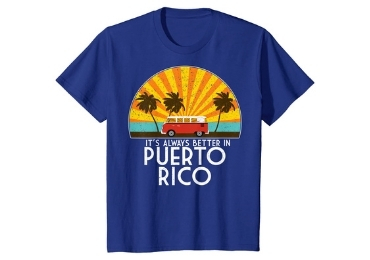 Puerto Rico Souvenir T-Shirt manufacturer and supplier in China