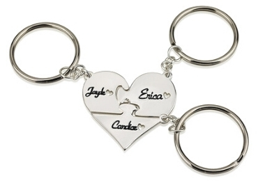 Puzzle Keyring manufacturer and supplier in China.