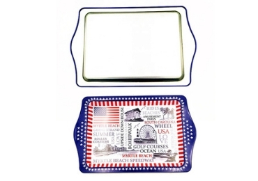 Souvenir Cities Metal Tray manufacturer and supplier in China