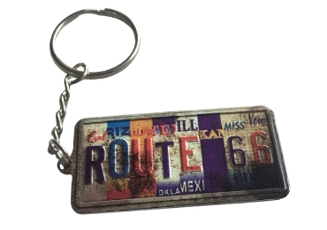 Souvenir License Plate Keychain manufacturer and supplier in China