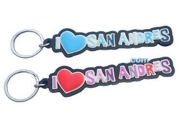Souvenir Rubber Keychain manufacturer and supplier in China